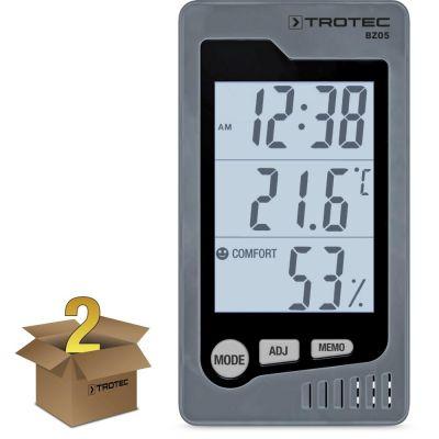 Thermo-hygromètre de table BZ05 en lot de 2