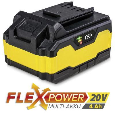 Batterie de rechange Flexpower 20 V 4,0 Ah