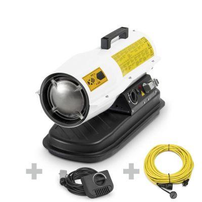 Canon à air chaud direct IDE 20 D + Rallonge + thermostat externe