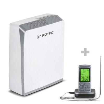 Déshumidificateur à adsorption TTR 56 E + Thermomètre pour barbecue BT40