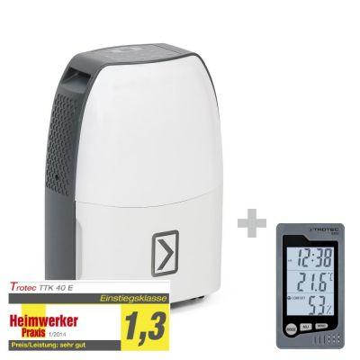 Déshumidificateur TTK 40 E + Thermo-hygromètre de table BZ05