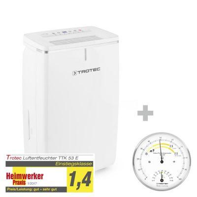 Déshumidificateur TTK 53 E + Thermo-hygromètre BZ15M