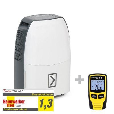 Déshumidificateur TTK 40 E + Enregistreur de données BL30