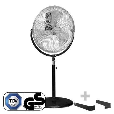 Ventilateur sur pied TVM 18 S + fixation murale/de plafond