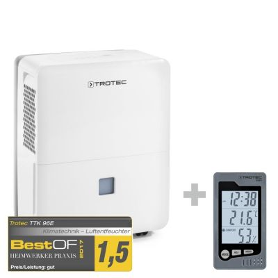Déshumidificateur TTK 96 E  + thermo-hygromètre de table BZ05