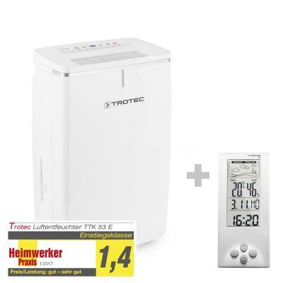 Déshumidificateur TTK 53 E + Thermo-hygromètre / Station météo BZ06