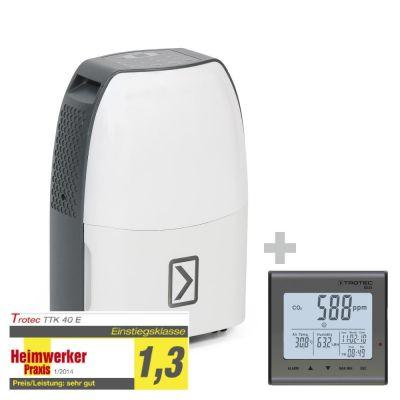 Déshumidificateur TTK 40 E + Indicateur de CO2 BZ25