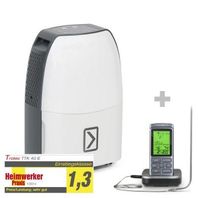 Déshumidificateur TTK 40 E + Thermomètre pour barbecue BT40