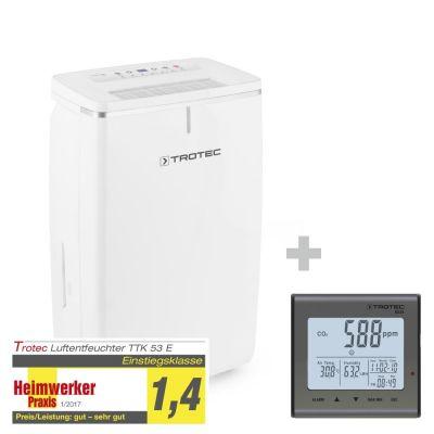 Déshumidificateur TTK 53 E + indicateur de CO2 BZ25