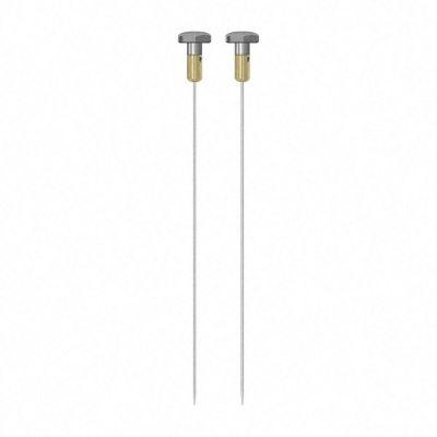 Paire d'électrodes rondes TS 004/300 2 mm