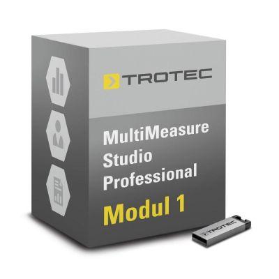 Logiciel MultiMeasure Studio Pro-Module 1 détection de fuite, diagnostic des bâtiments/moisissures