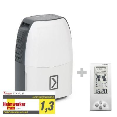 Déshumidificateur TTK 40 E + Thermo-hygromètre / Station météo BZ06
