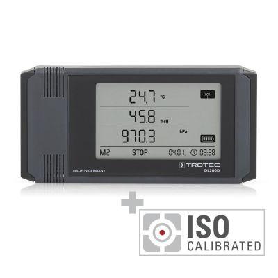 Enregistreur de données DL200D étalonné selon ISO I.2102