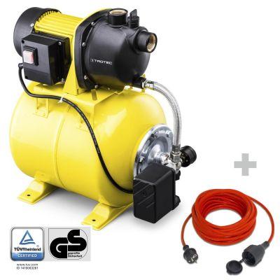 Pompe surpresseur TGP 1025 E  + Rallonge haute qualité 15 m 230 V 1,5 mm²