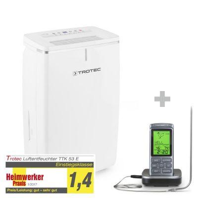 Déshumidificateur TTK 53 E + Thermomètre pour barbecue BT40