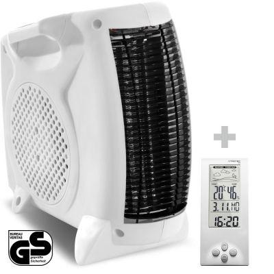 Chauffage soufflant TFH 19 E + Thermo-hygromètre / Station météo BZ06