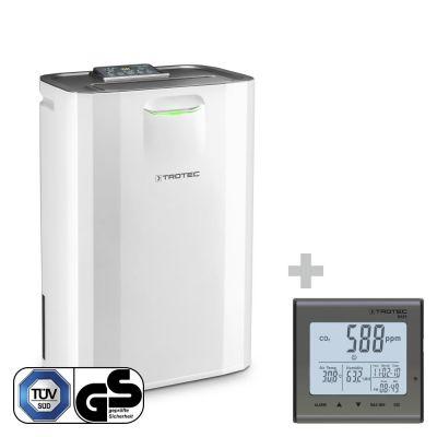Déshumidificateur confort TTR 57 E + Indicateur de CO2 BZ25